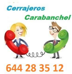 Telefono de la empresa cerrajeros Carabanchel